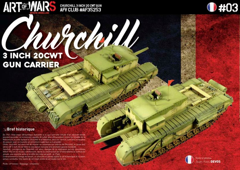 Churchill 3 Inch 20 CWT Gun Carrier
